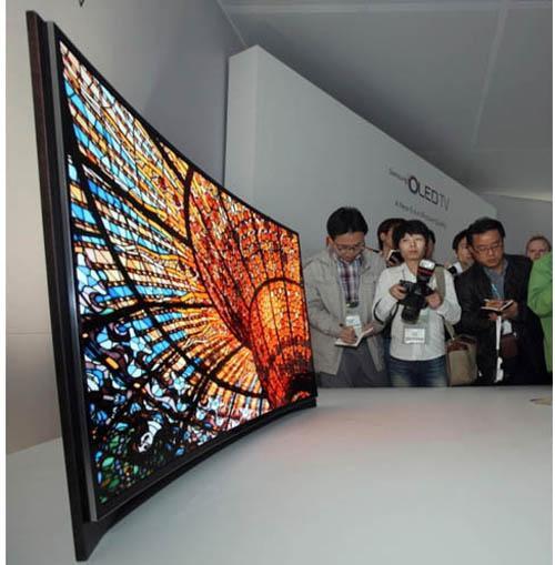телевизоры с изогнутым экраном