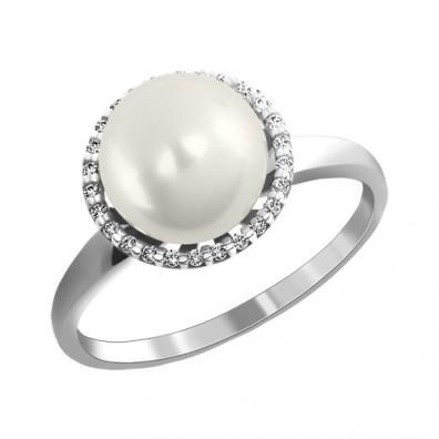 кольца с жемчугом